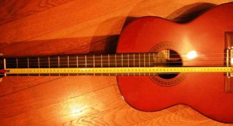 Comment sont positionns les frettes sur le manche d 39 une guitare - Comment dessiner une guitare ...